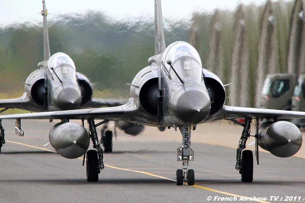 Ramex Delta Tactical Display 2011, Patrouille RAMEX Delta 2011, Mirage 2000N, présentation tactique, Forces Aériennes Stratégiques FAS Meeting aerien