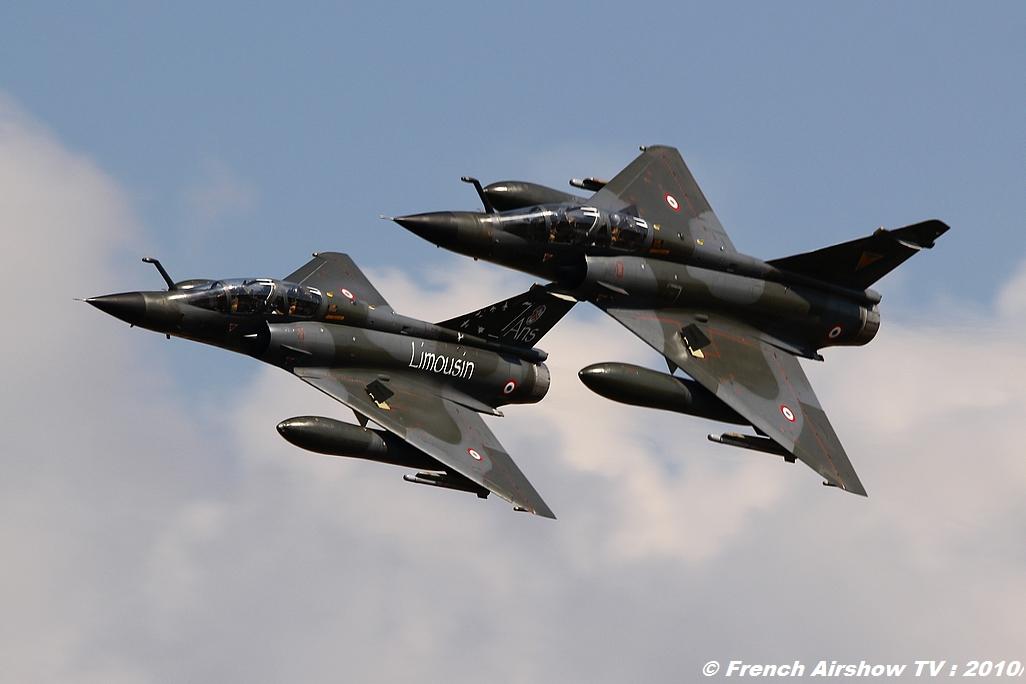 Ramex Delta Tactical Display 2010, Patrouille RAMEX Delta 2010, Mirage 2000N, présentation tactique, Forces Aériennes Stratégiques FAS Meeting aerien