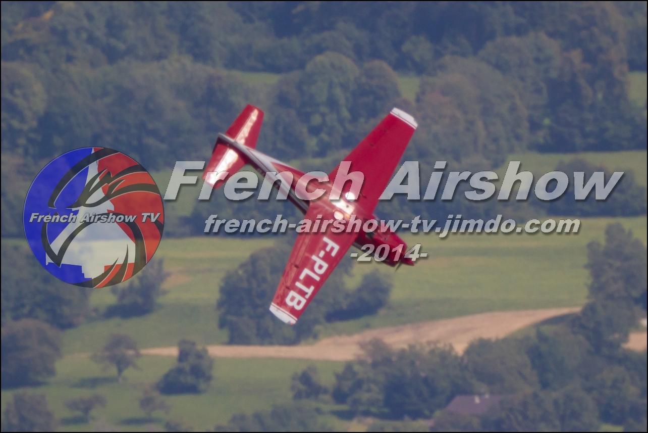 F.8L Falco ,F-PLTB , Meeting Aerien Aix les Bains 2014