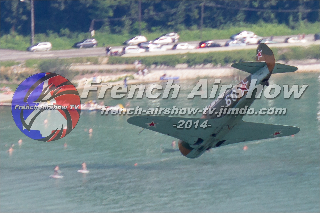 Yak-3 , Meeting Aerien Aix les Bains 2014, skyline-events, meeting aerien bourget du lac 2014