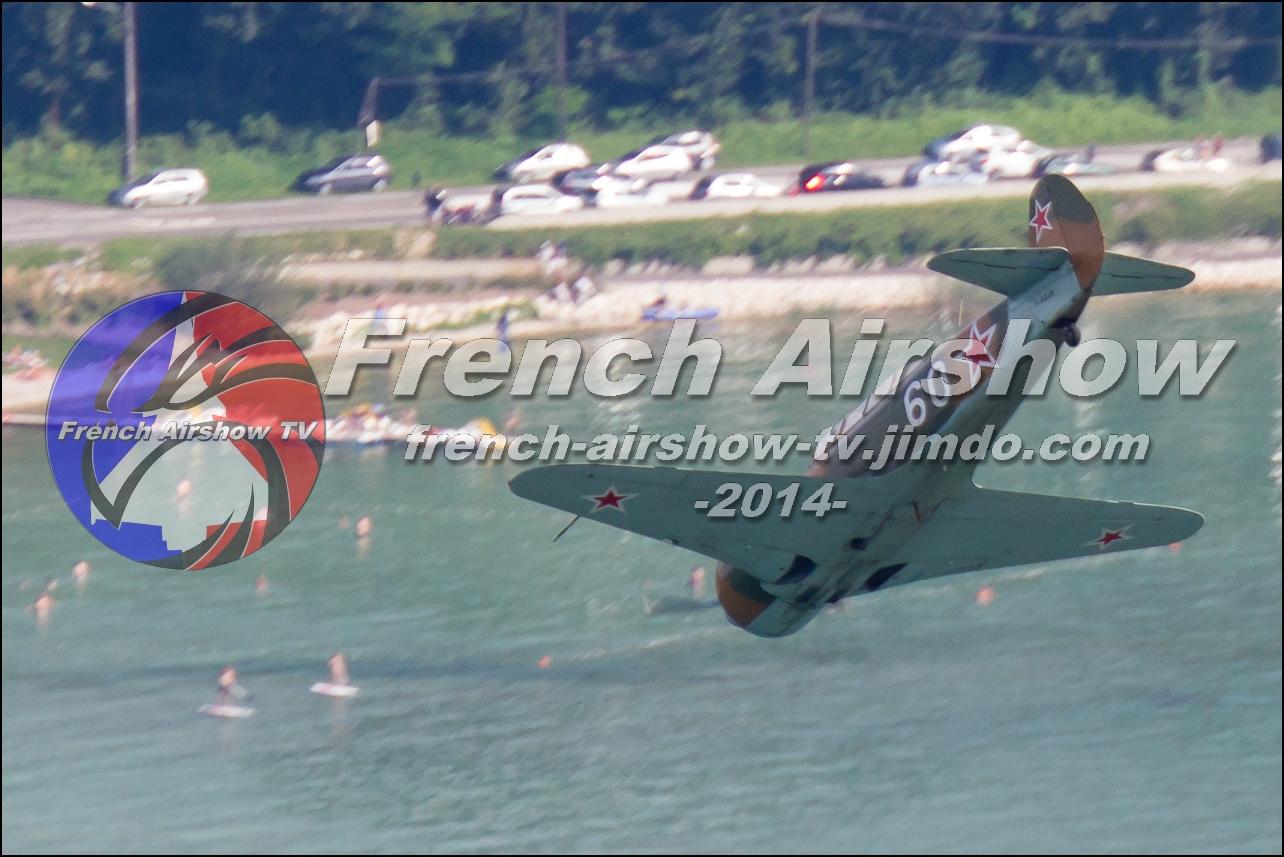 Yak-3 , Meeting Aerien Aix les Bains 2014, skyline-events, meeting aerien bourget du lac 2014