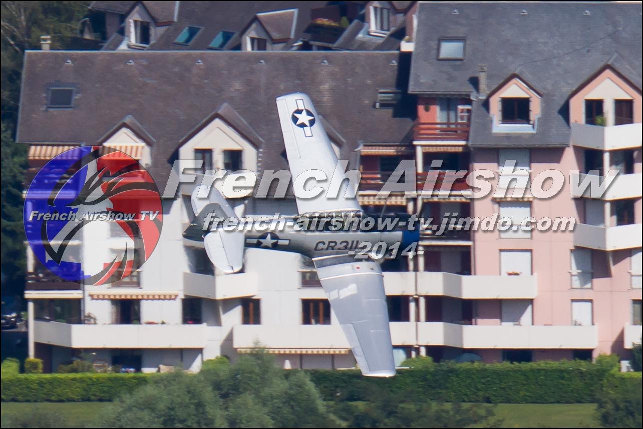 T-6G Texan , F-AZTL , Meeting Aerien Aix les Bains 2014