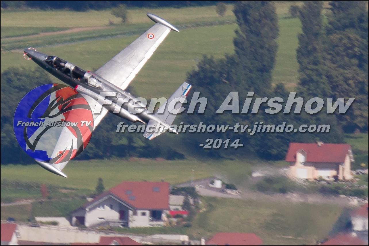 Fouga Magister , F-AZNK , Meeting Aerien Aix les Bains 2014