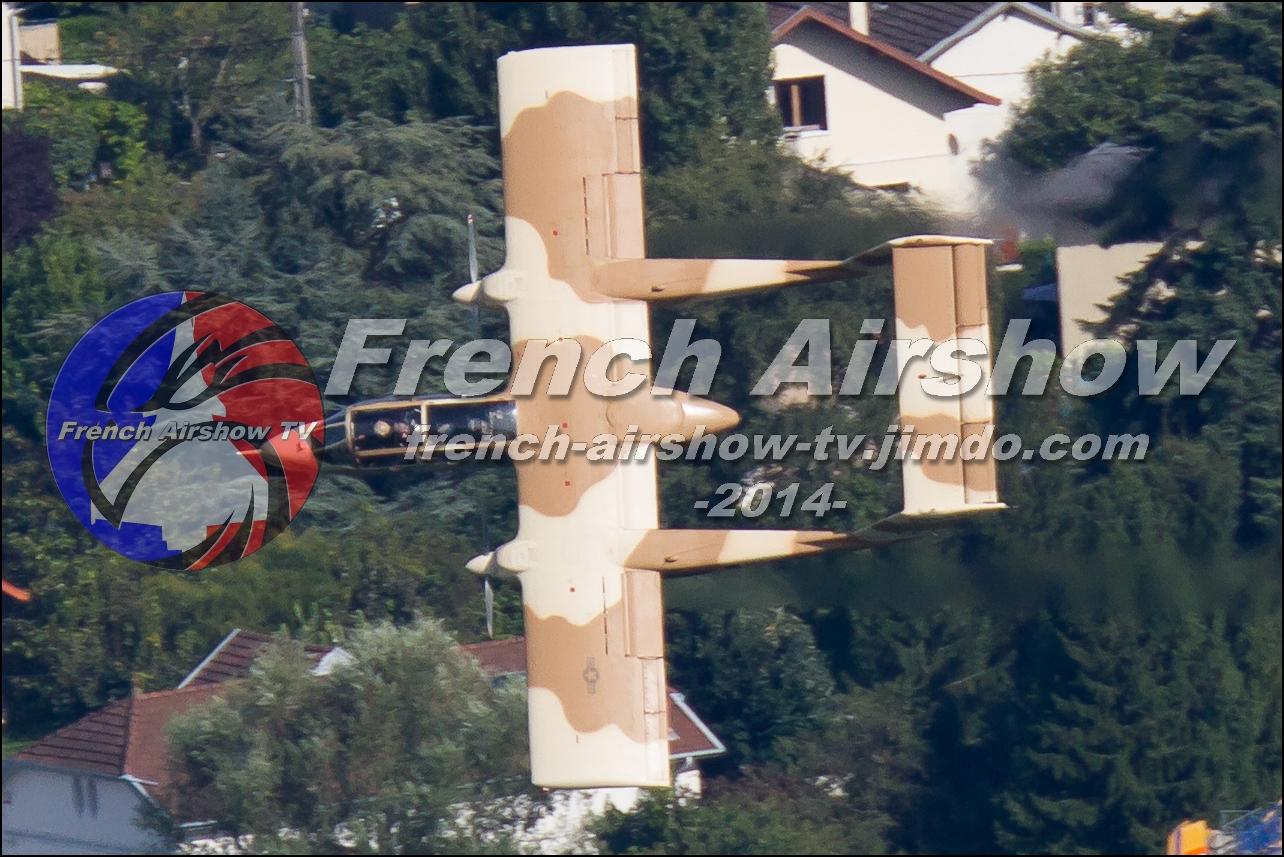 OV-10 Bronco Montelimar, Meeting Aerien Aix les Bains 2014