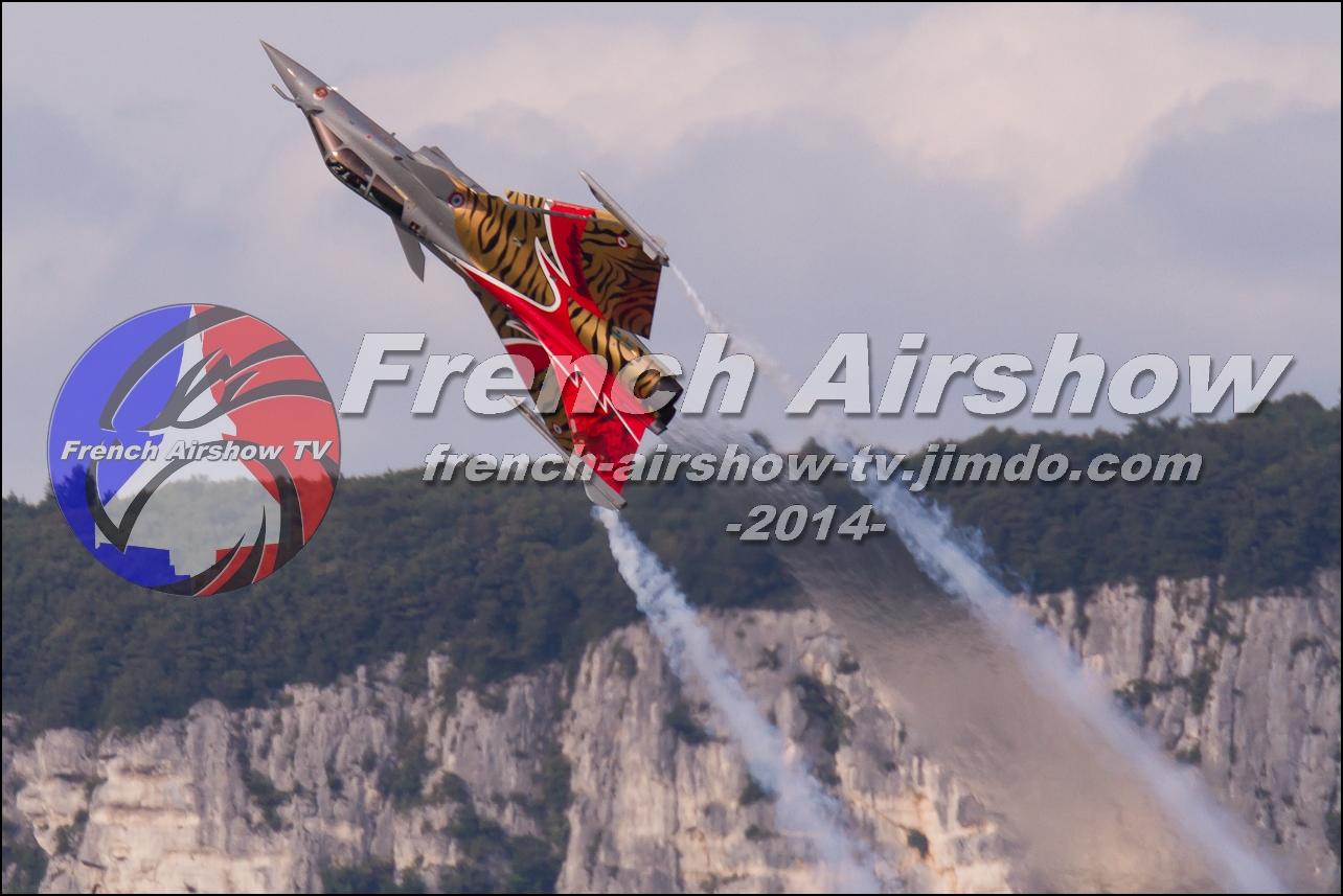 Rafale Solo Display , Rafale display , Meeting Aerien Aix les Bains 2014