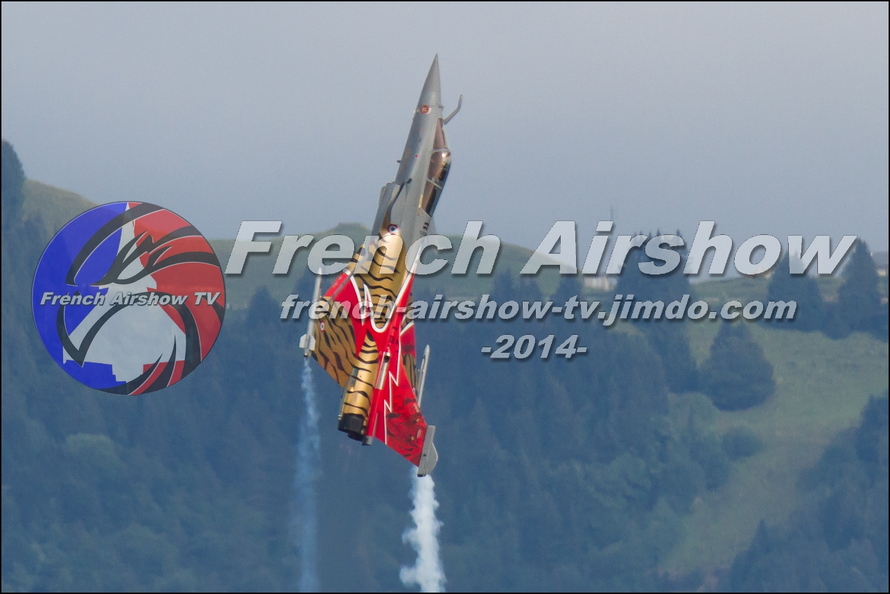 Rafale Solo Display , Rafale display Navig'Aix , Meeting Aerien Aix les Bains 2014