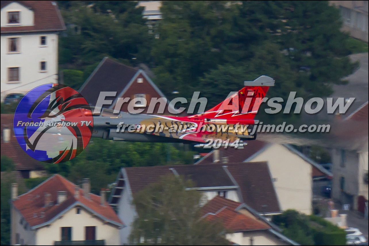 Rafale Solo Display , Rafale display Navig'Aix, Meeting Aerien Aix les Bains 2014
