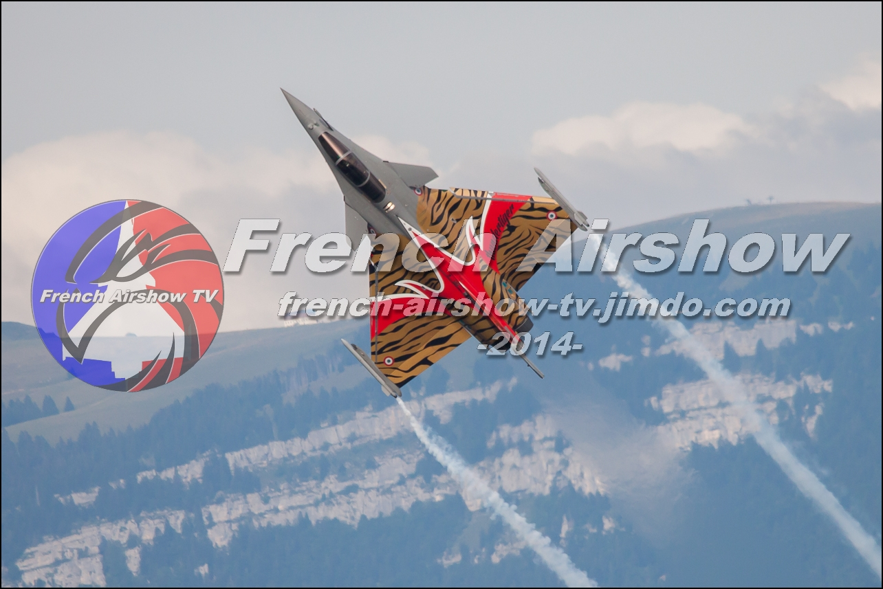 Rafale Solo Display , Rafale display ,skyline-events.fr, Meeting Aerien Aix les Bains 2014 meeting aerien bourget du lac 2014
