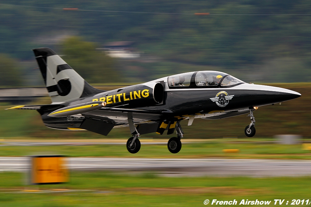 Breitling Jet Team sion airshow 2011
