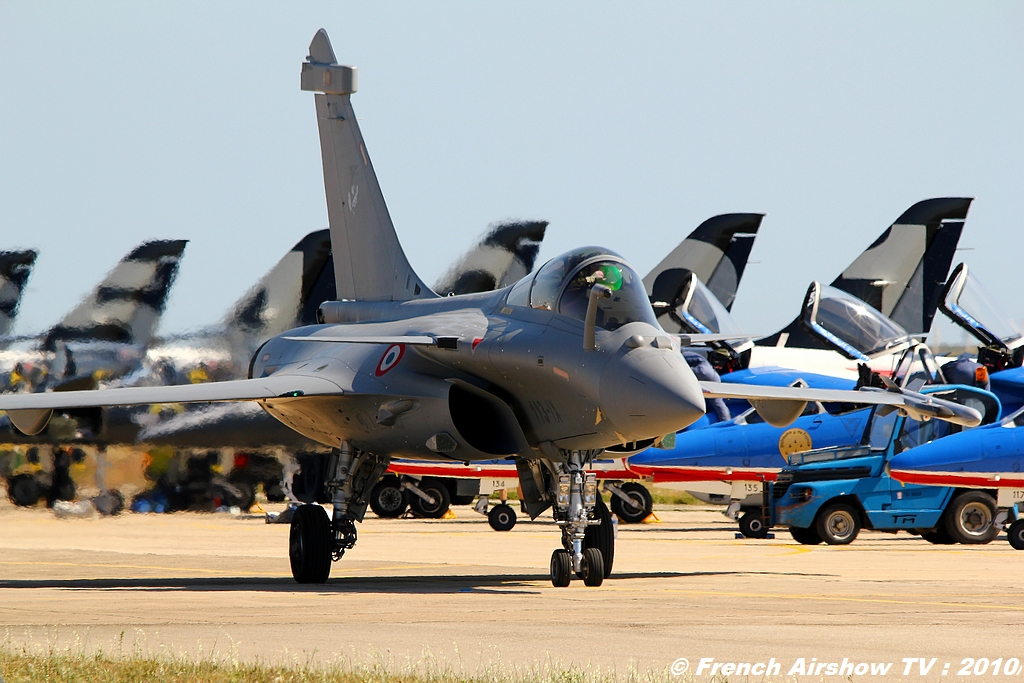 Rafale Solo Display 2010,Dassault photos 2010 Meeting Aerien 2010
