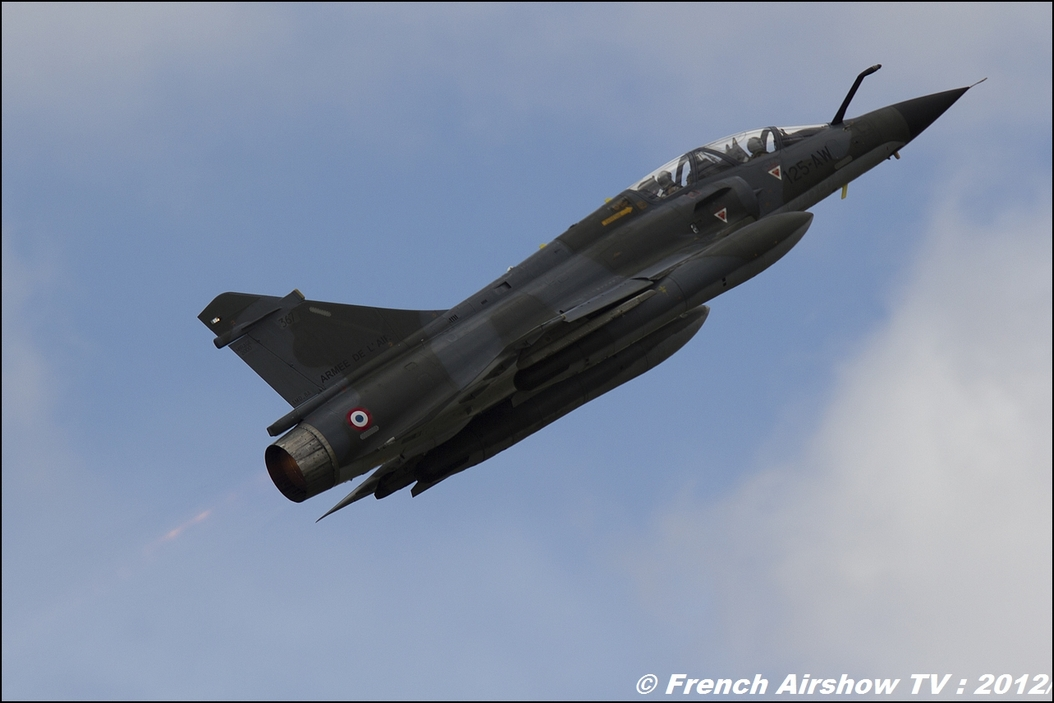 Mirage 2000N Ramex Delta JPO BA-702 Avord 2012