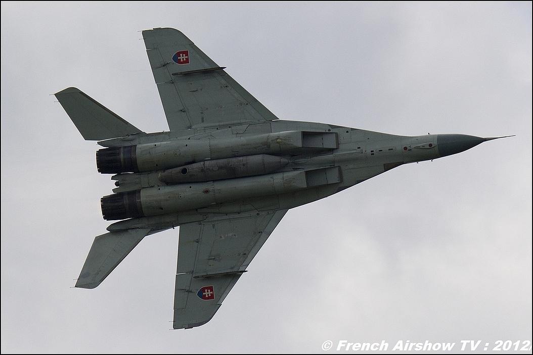 Mig-29 Slovaque 2012