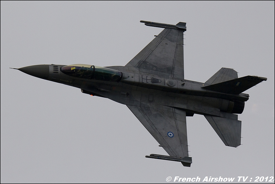 F-16 D Solo display Grec Zeus
