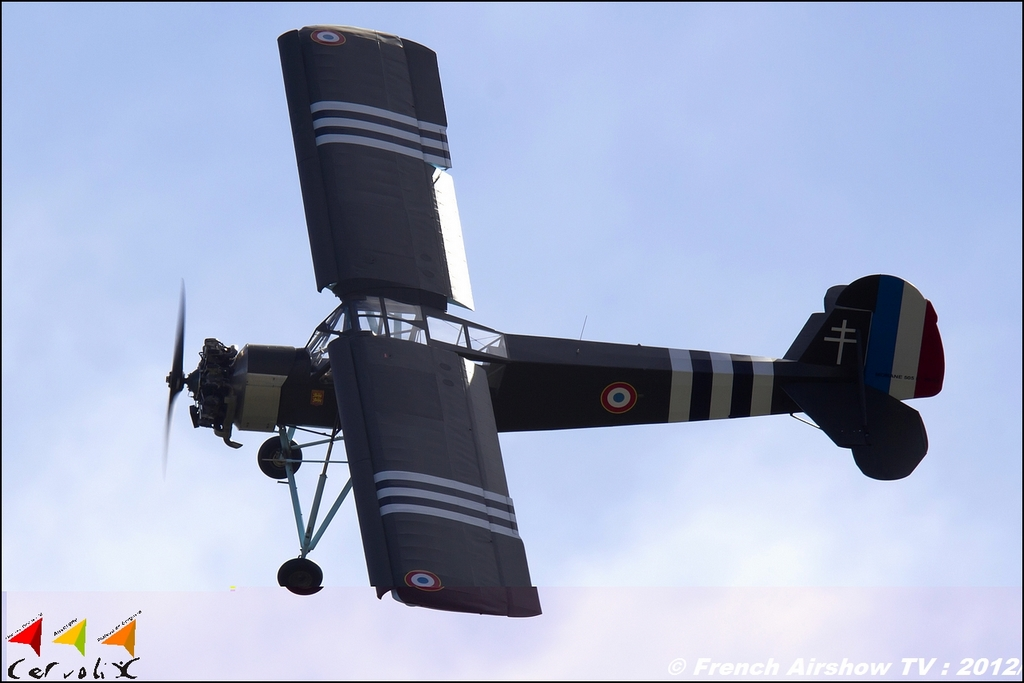 Le Morane 505 Criquet (Storch) de Philippe Moniot