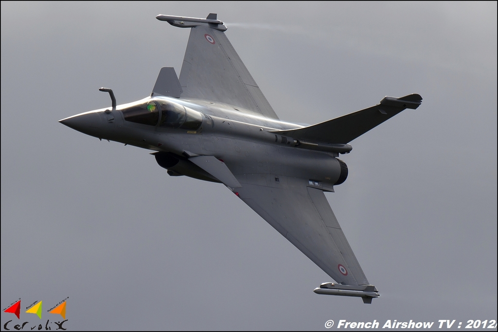 Rafale Solo Display,Cervolix, Meeting Aerien 2012, CERVOLIX 2012