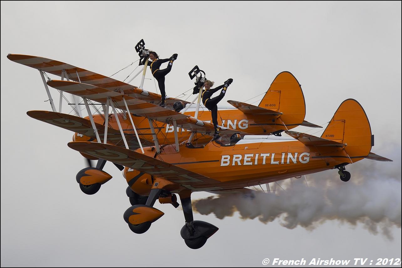 Breitling Wingwalkers Meeting Aerien Rennes Airshow 2012