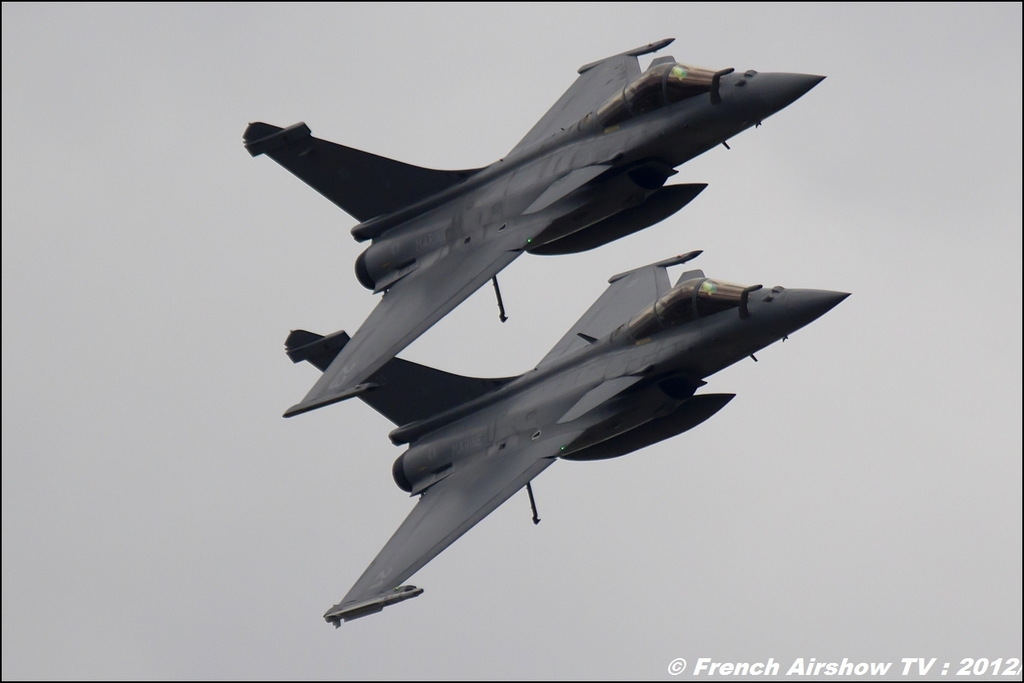 Rafale Marine Display 2012