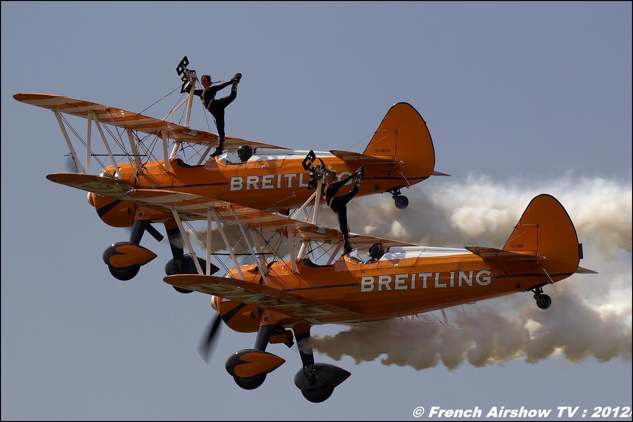 Breitling Wingwalkers Meeting Aerien Roanne 2012