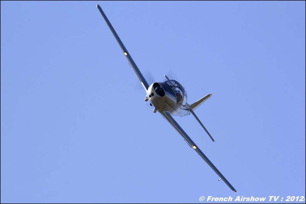 Piaggio P-149 - F-AZZI , Meeting Aerien Roanne 2012