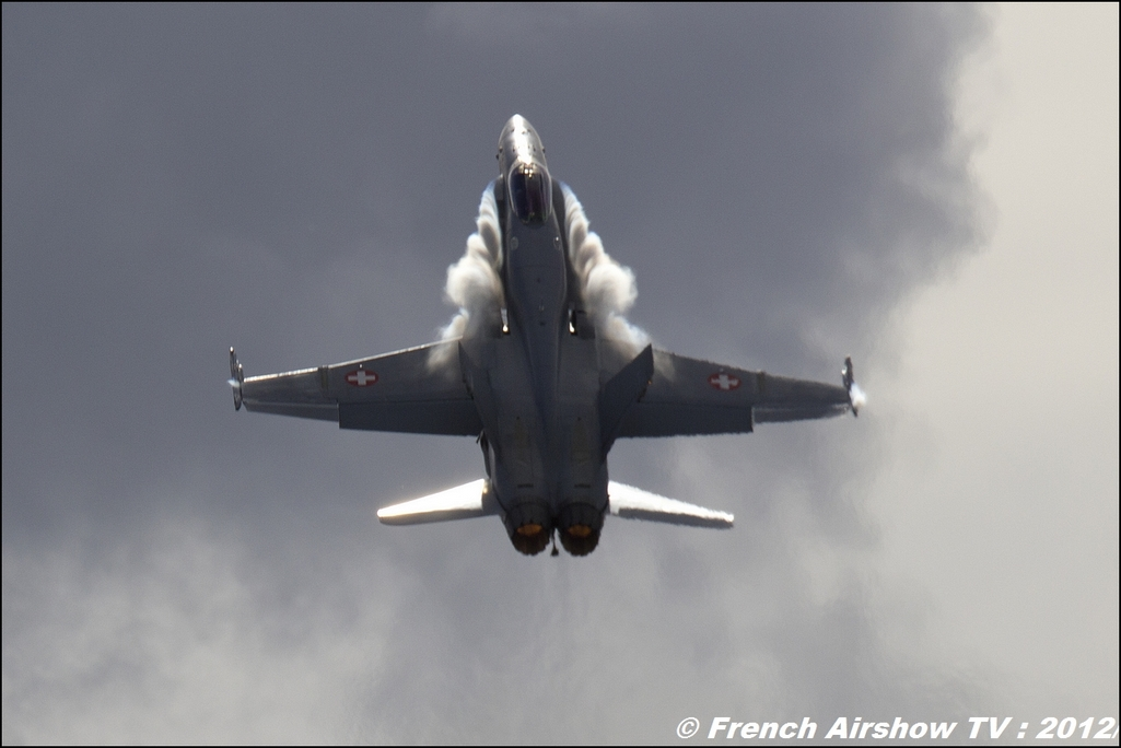 F-18 Hornet Solo Display Suisse
