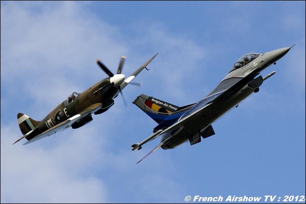 Spitifre & F-16 Belge