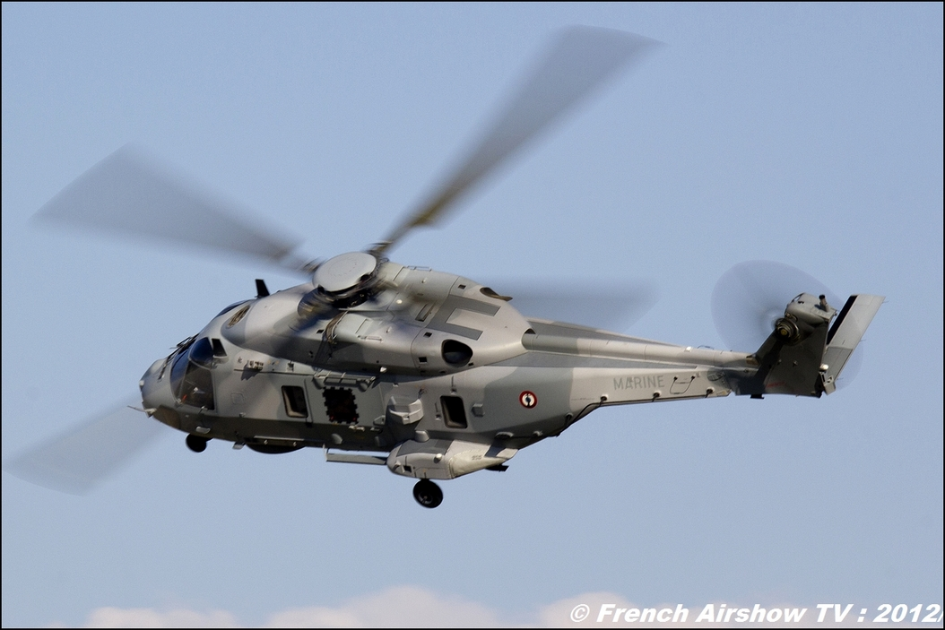 NH-90 Caiman Marine Free flight world Master Valence-Chabeuil 2012